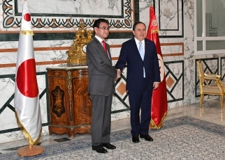 (Photo5) Japan- Tunisia Foreign Minister's Meeting