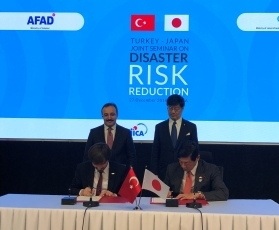 Signing of a Memorandum of Cooperation on Disaster Risk Reduction between Japan and Turkey1