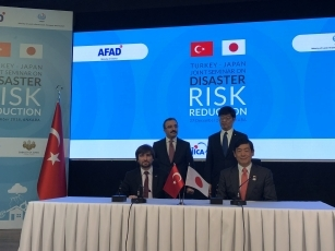 Signing of a Memorandum of Cooperation on Disaster Risk Reduction between Japan and Turkey 2