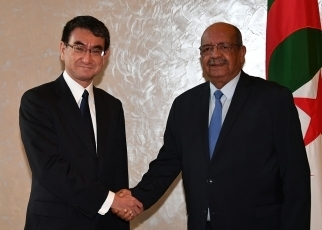 (Photo7) Japan-Algeria Foreign Ministers' Meeting