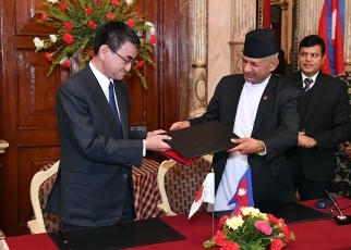 Japan-Nepal Foreign Ministers' Meeting5
