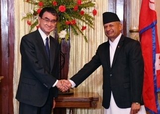 Japan-Nepal Foreign Ministers' Meeting2