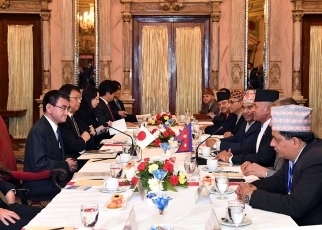 Japan-Nepal Foreign Ministers' Meeting3