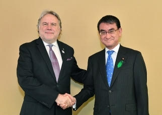 Japan-Greece Foreign Ministers' Meeting2