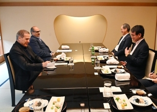 Foreign Minister Kono holds Luncheon Meeting with H.E. Dr. Nabil Abu-Rudeine, Deputy Prime Minister and Minister of Information of the Palestinian Authority 2