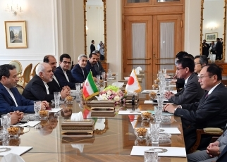 (Photo) Foreign Minister Kono visited Sweden and Iran