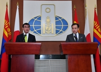 Japan-Mongolia Foreign Ministers' Meeting3