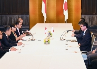 Japan-Indonesia Foreign Ministers' Meeting2