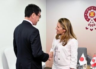 Japan-Canada Foreign Ministers' Meeting 1