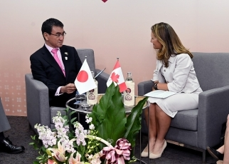 Japan-Canada Foreign Ministers' Meeting 3