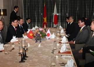 Japan-Viet Nam Foreign Ministers' Working Dinner3