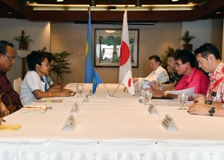 Japan-Palau Foreign Ministers' Meeting 1
