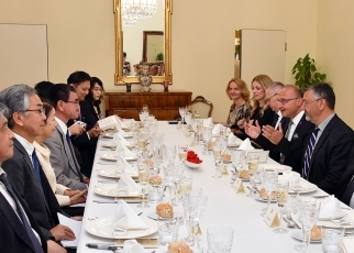 Japan-Croatia Foreign Ministers' Meeting and Working Dinner