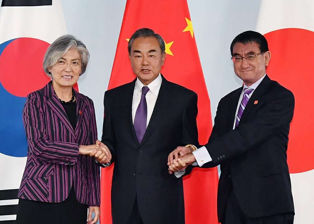 (Photo1) Foreign Minister Kono visited China