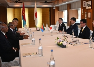 (photo2) Japan-Eritrea Foreign Ministers' Meeting