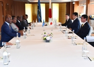 Japan-Botswana Foreign Ministers' Meeting2