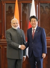 (Photo1) Japan-India Summit Meeting1