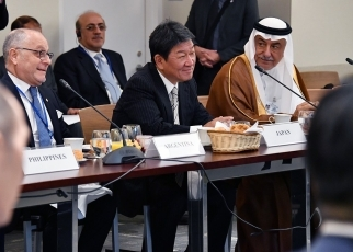 Foreign Affairs MOTEGI Toshimitsu attended the 12th Ministerial Meeting of the Global Governance Group (3G) 2