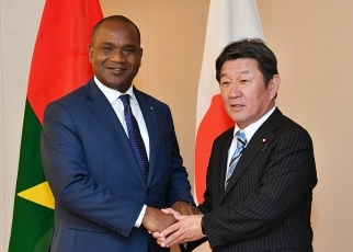 Japan-Burkina Faso Foreign Ministers' Meeting 2