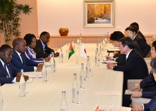 Japan-Burkina Faso Foreign Ministers' Meeting 3