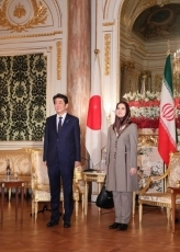 (Photo1) Courtesy Call on Prime Minister Shinzo Abe by Joneydi of Vice-President for Legal Affairs of Iran 1