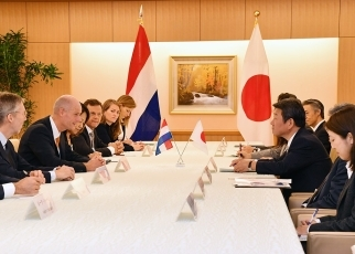 Japan-Netherlands Foreign Ministers' Meeting 3