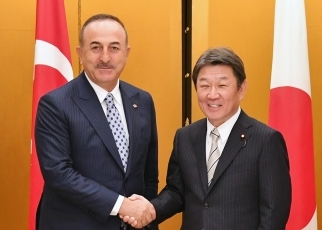 Japan-Turkey Foreign Ministers' Meeting 1