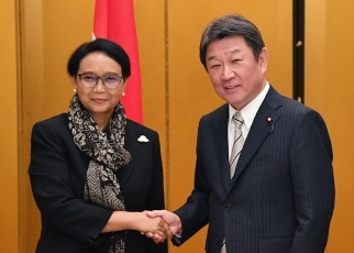 Japan-Indonesia Foreign Ministers' Meeting 1