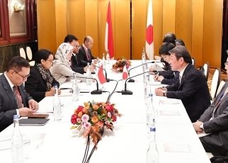 Japan-Indonesia Foreign Ministers' Meeting 2