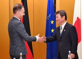 Japan-Germany Foreign Ministers' Meeting 1