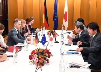 Japan-Germany Foreign Ministers' Meeting 3