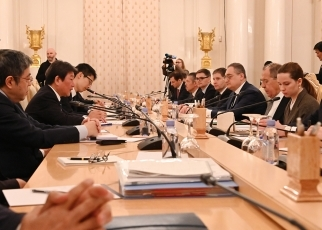 (photo)Foreign Minister Motegi visited Russia