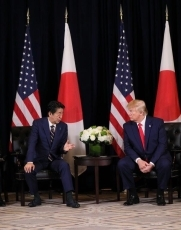 (Photo1) Photograph of the Japan-U.S. Summit Meeting (expanded meeting)