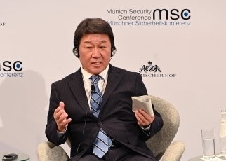 Foreign Minister MOTEGI Attends the 56th Munich Security Conference1