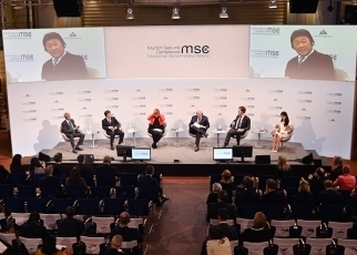 Foreign Minister MOTEGI Attends the 56th Munich Security Conference2
