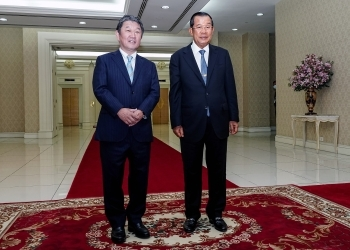 Courtesy Call on Prime Minister Hun Sen 1