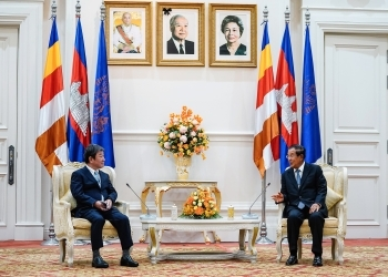 Courtesy Call on Prime Minister Hun Sen 2