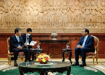 Japan-Cambodia Foreign Ministers' Meeting 2