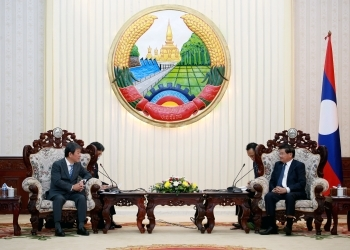 Courtesy Call on Prime Minister Thongloun Sisoulith
