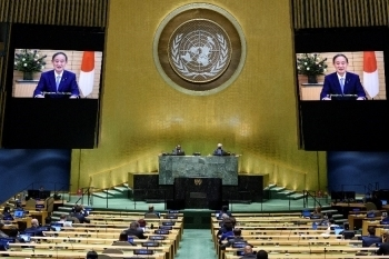 Address by Prime Minister Suga at the Seventy-Fifth<br> Session of the United Nations General Assembly2
