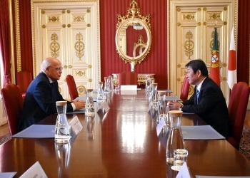 Japan-Portugal Foreign Ministers' Meeting 2