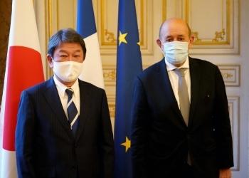 (Photo 2) Japan-France Foreign Ministers' Meeting and Working Dinner