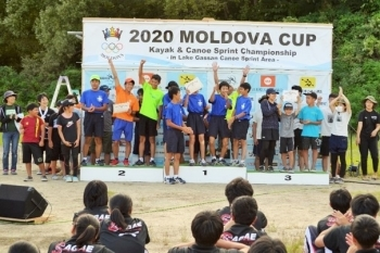 (photo 4) 2020 Moldova Canoe Cup hosted by Nishikawa Town