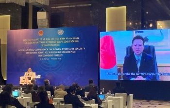 Video message by State Foreign Minister UTO at the International Conference on Women, Peace and Security in Vietnam2