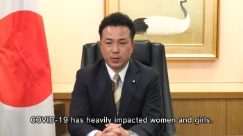 Video message by State Foreign Minister UTO at the virtual Ministerial Roundtable held jointly by UN Women and the Government of Denmark