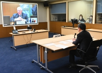 Foreign Minister Motegi's attendance at the EU Foreign Affairs Council (virtual format)