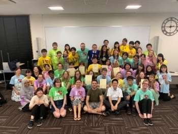 (photo 10) Students participating in the Fukushima Ambassadors Programs in 2019