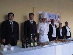外務省: 公邸料理人の活動紹介「魚のない内陸国での和食とイタリアンの ...