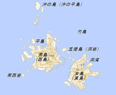 竹島の詳細