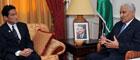 ヌスール・ヨルダン首相への表敬